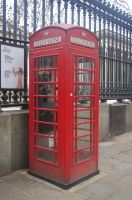 Telephone Box by LucyLostInWonderland