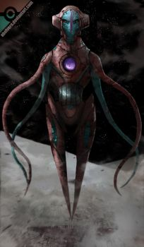 Deoxys by AbelVera