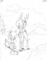 Rudolph and Clarice by victor639514