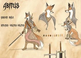 Abitus- reference sheet by FoxInShadow