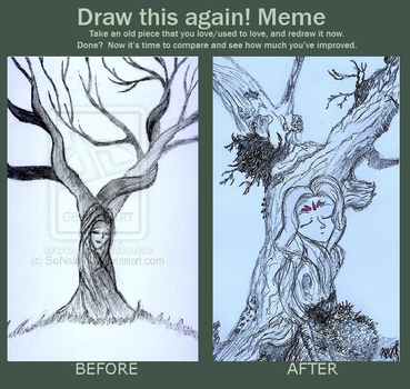 Meme before and after_ Moon by SoNnIcA13