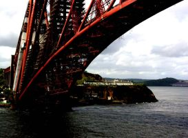 Forth Rail Bridge by Aliey