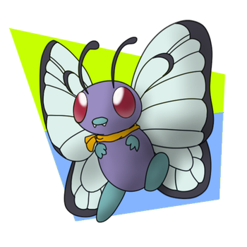 012- Butterfree by KurtisTheSnivy