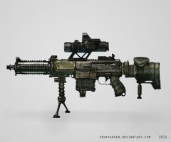 Rifle concept by ProxyGreen