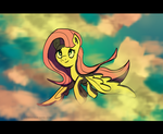 A wild Fluttershy appeared by autobotchari