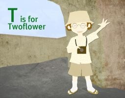T is for Twoflower by whosname