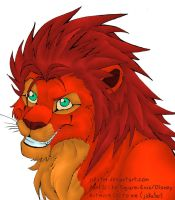 Axel lion by Jakxter by ignesfatuis