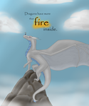 Silver - Dragons Have More Than Fire Inside by ilovemybirdies