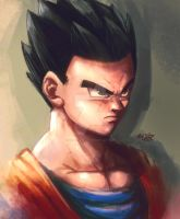 Dragon Ball Super Gohan by Mark-Clark-II