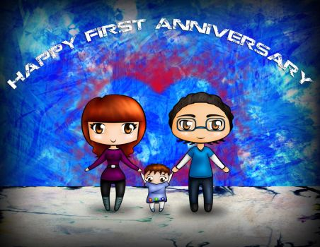Happy 1st Anniversary my Love by suhey