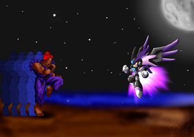 Gouki Vs Forte by DavidDarck