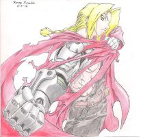 Edward Elric by nessilver