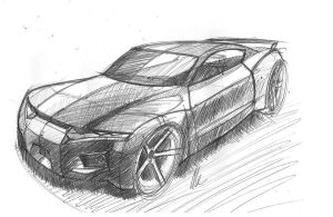 Honda Muscle Car by MartinEDesign