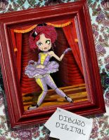 MairoNette VenTrilocuist Doll by Popolote