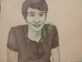 Danisnotonfire (Dan Howell) drawing by Daystar14
