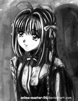 Haruka - Project Light and Shadow - attempt 2 by anime-master-96