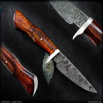 Ceros Hunting Knife by Logan-Pearce