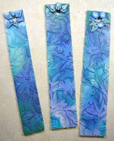 Blue Bookmarks by eerok1955