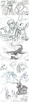 Httyd Stuff (spoilers) by sharkie19