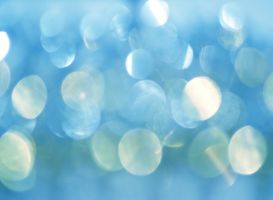 Blue Bokeh Wallpaper by CozyComfyCouch