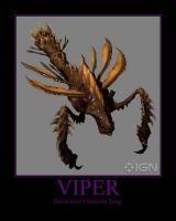 Starcraft II Heart of the Swarm Viper by Onikage108