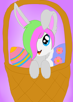 .:GA:. Rabbita Rabbit in basket by Maddysu86