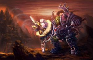 warrior by shuzong
