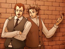 Holmes and Watson 2 by J-666