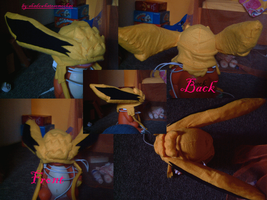 jolteon hat pokemon by shadowhatesomochao