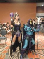 florida supercon 2012 Skeletor and Evilene by IrashiRyuu
