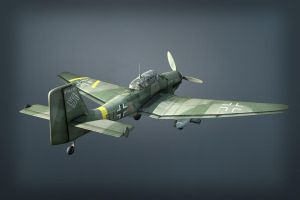 Ju 87G2 Stuka rerendered by warag