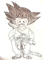 Young Goku by ZoroKingofSwords