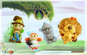 My Handmade wizard of OZ by buzhandmade