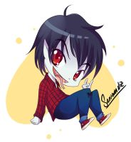 marshall lee chibi hora de aventura by keitenstudio