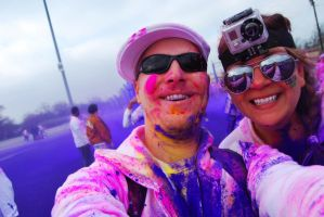 The Color Run.. Purple by SublimeBudd