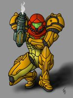Samus Aran by Orion1189