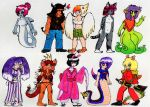 monstergirls adoptables 2 nwn by Fedextreme