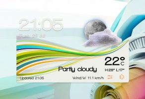Future Abstract Widget S1 for xwidget by jimking