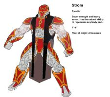 Underlord character Strom by codazen