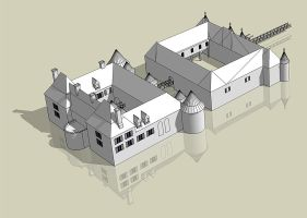 Medieval Castle by Norke