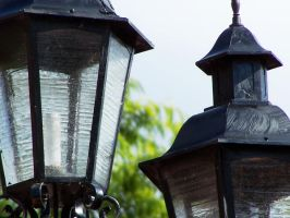 Lamp posts by the-wandering-child