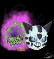 A.T Spiritomb and glalie