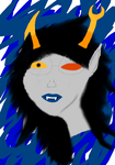 Vriska Painting by knightlymuse