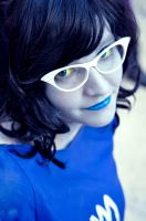 Blue Lady ~ Homestuck by Kyryna