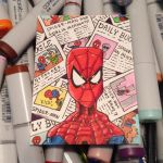 Spiderman sketch card by johnnyism
