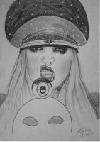 Maria Brink (In This Moment) by ZombieGhoulina