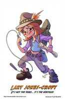 TLIID 208. Indiana Jones' and Lara Croft's kid... by AxelMedellin