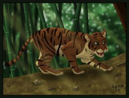 Tiger Bambou by ClaireLyxa