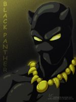 Black Panther commission by KiraTheArtist