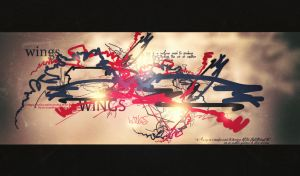 paper wings by hydezz